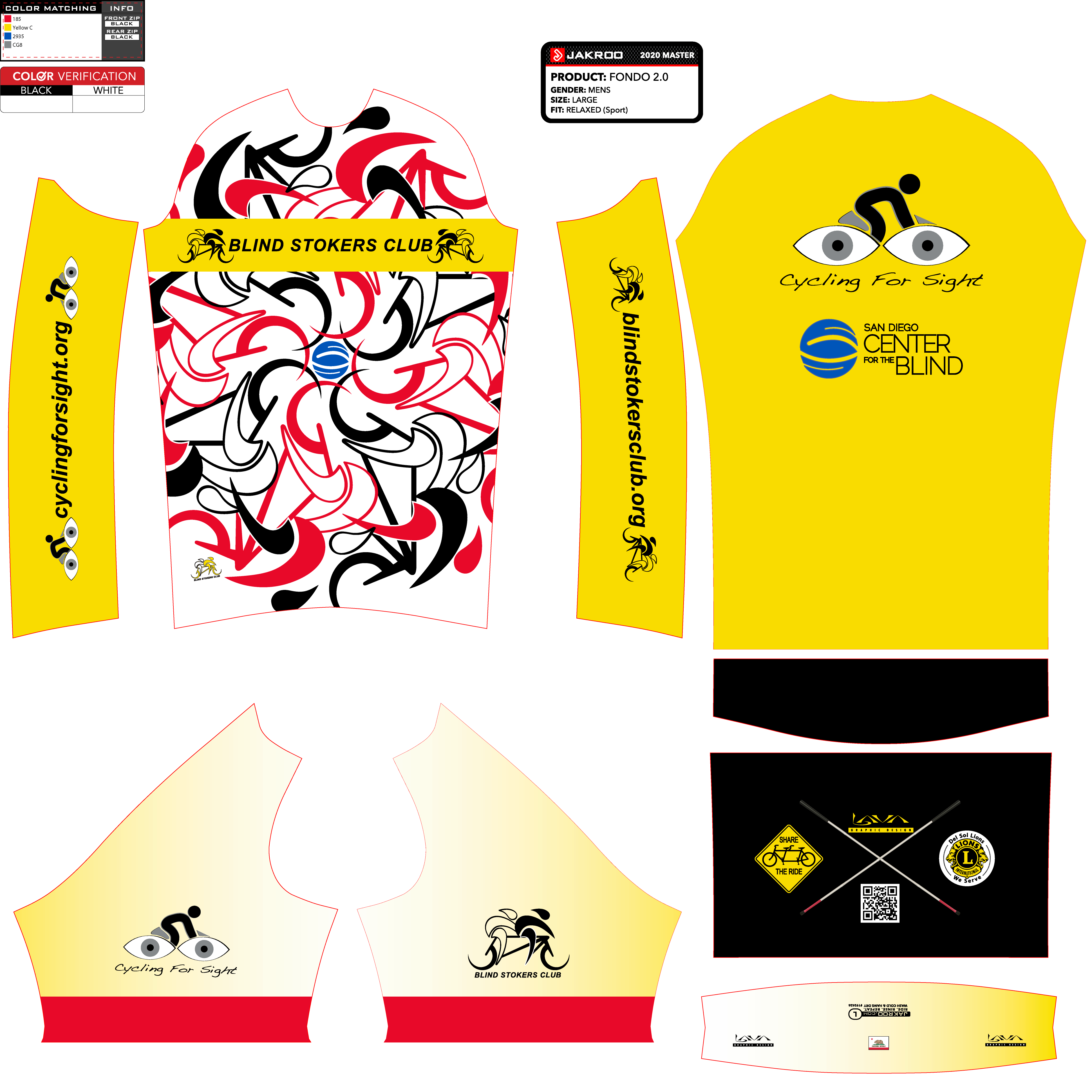 Purchase a 2021 BSC-CFS cycling jersey