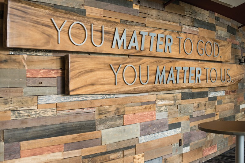 12Stone - You matter to God Wall