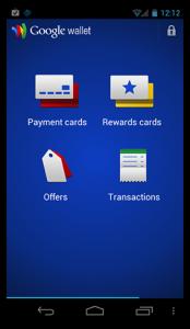 Google Wallet Mobile app