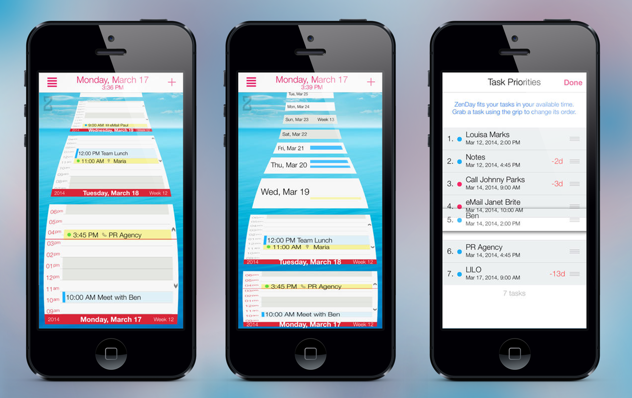 ZenDay iOS - a new level for time management apps