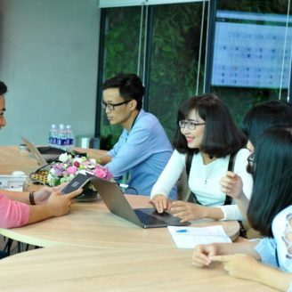 UpStar Labs meeting room