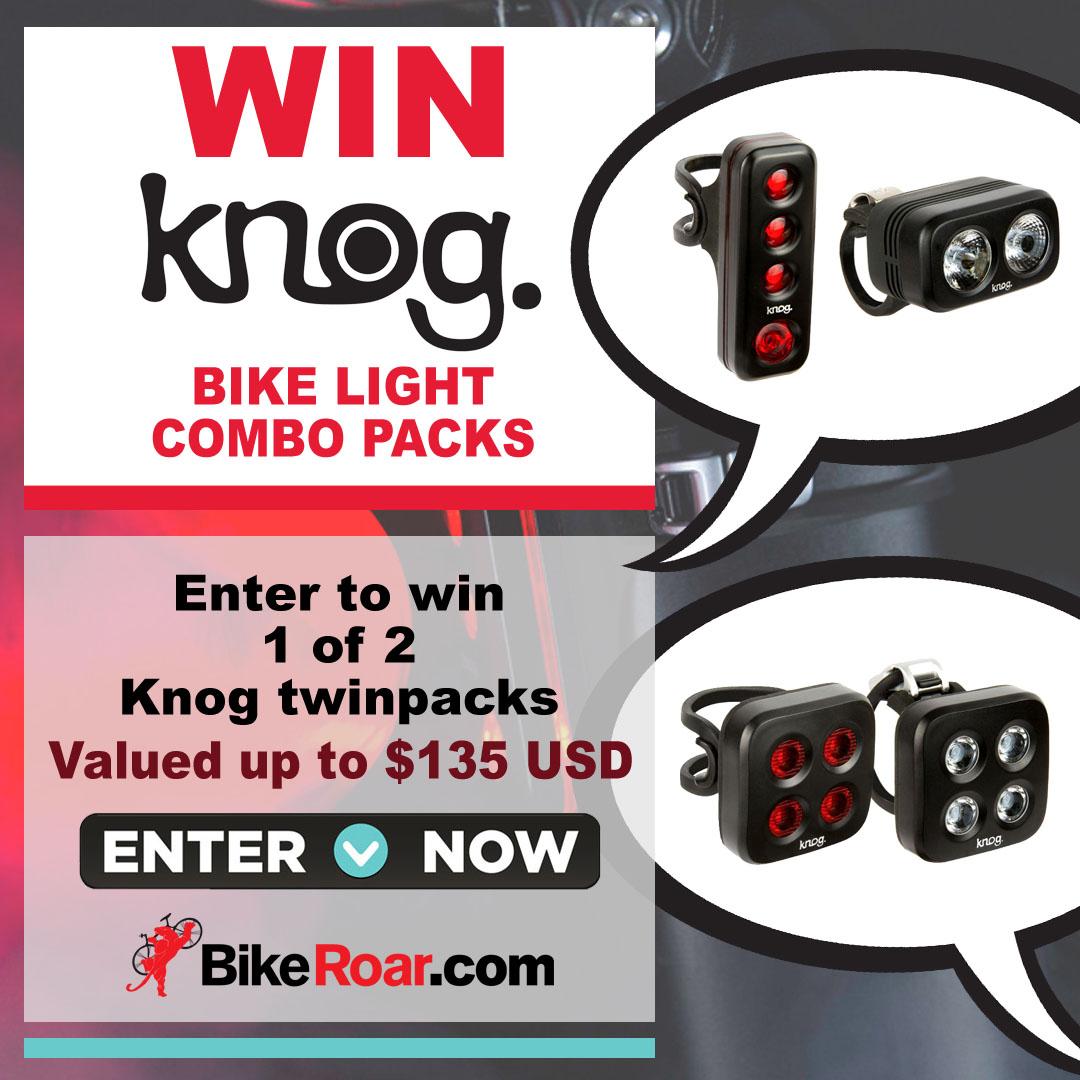 Win 1 of 2 Knog bike light combo packs #2