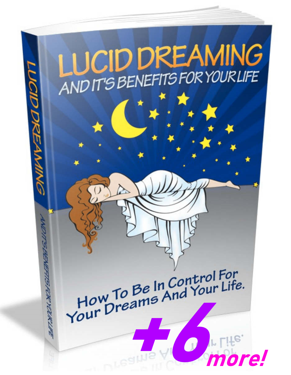 Lucid dreaming ebook + 6 more on next page for free