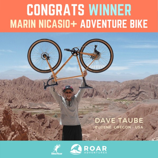 WIN a Marin Nicasio+ Adventure Bike from Roar Adventures!