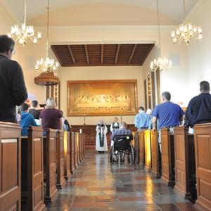 En la capilla – mes de octubre