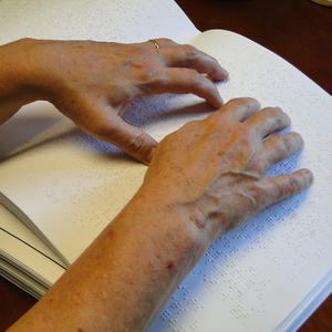 World Sight Day: A Story From an Upper Room Braille Edition Reader