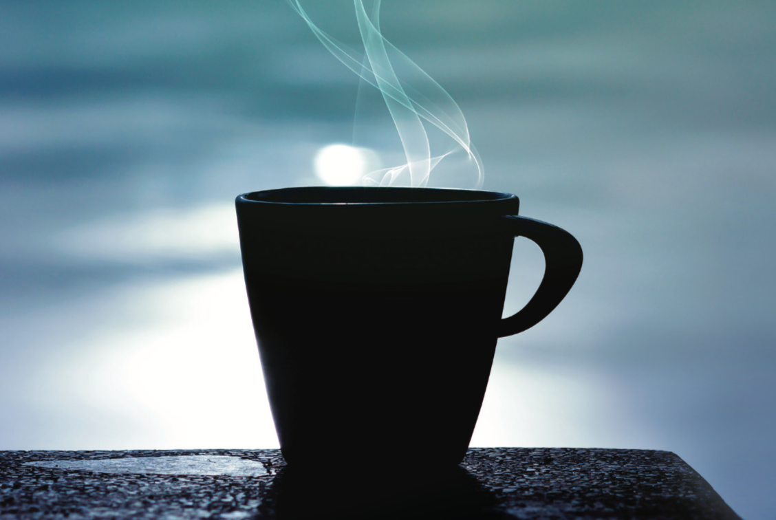 Tending the soul coffee cup