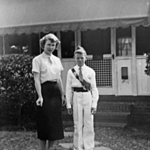 Square drew and mom  dorothy stokes sappington