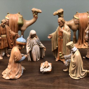 A Year-Round Nativity