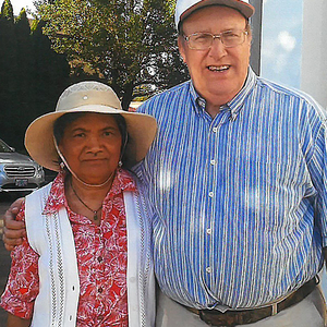 Square mark and wife  shon