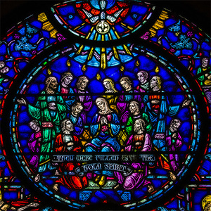 Square pentecost window hp