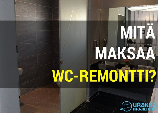 wc-remontin hinta