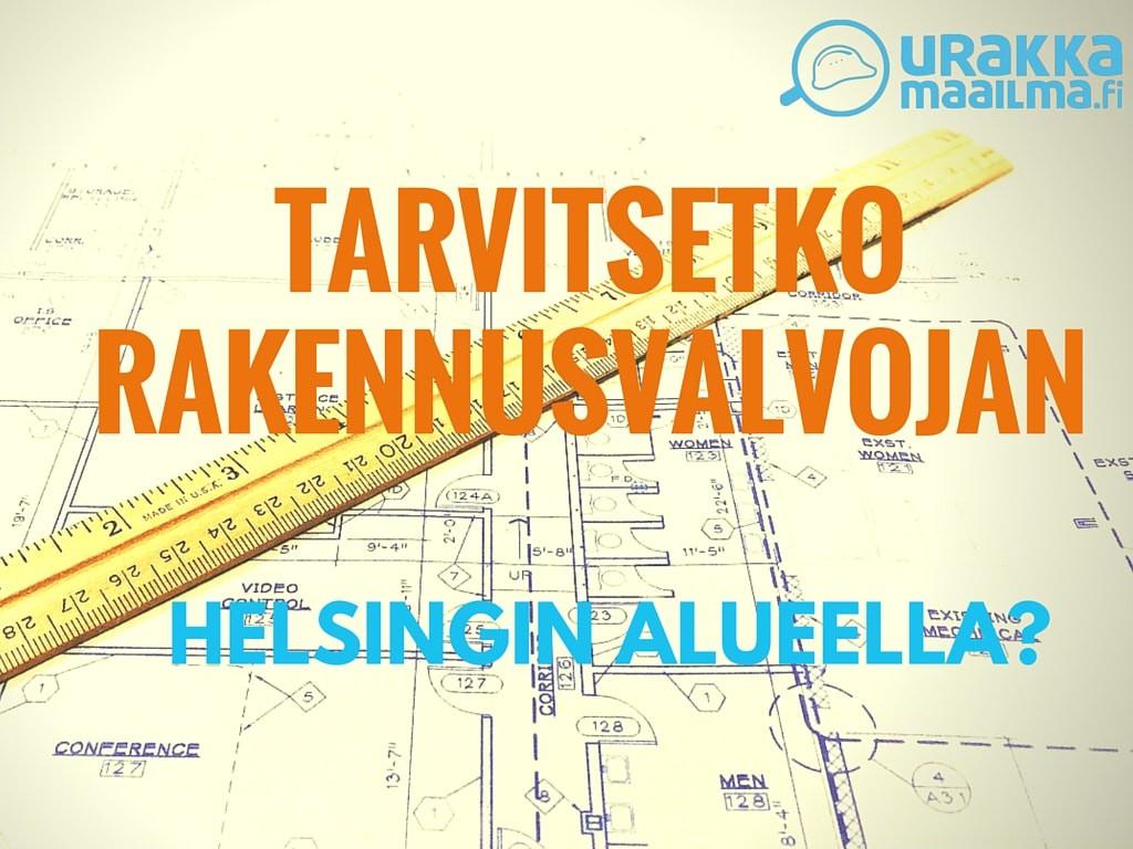 Rakennusvalvonta Helsinki Pääkaupunkiseutu