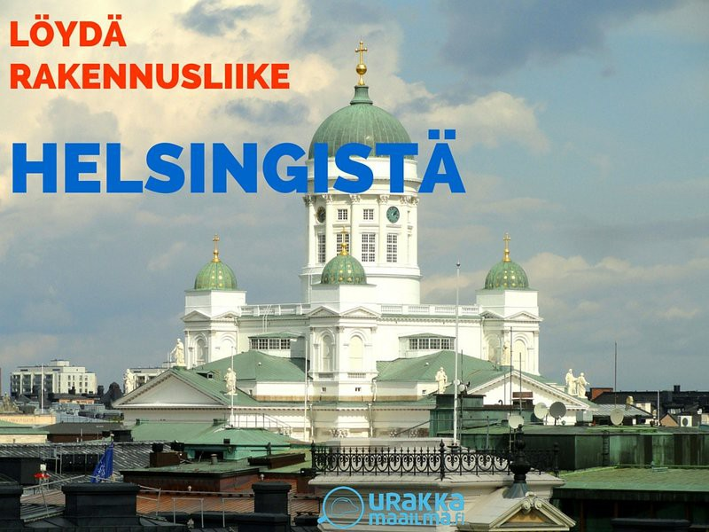 Helsinki rakennusliikkeet löydä