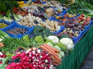 Farmer's markets are an excellent source for organic produce.