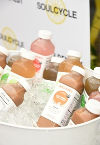 cold brewed coffee at summer Urban Remedy + Cindy Crawford event