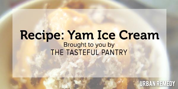 Recipe Yam Ice Cream