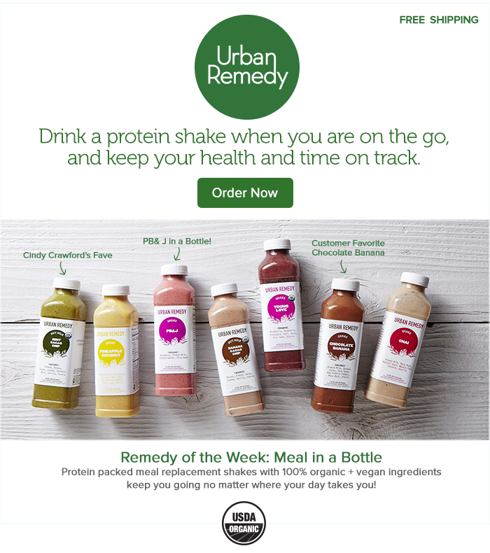 Urban Remedy Meal Replacement Shake