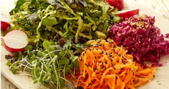 Asian Kale Salad Featured image