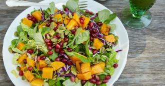 Autumn Salad FB Ad