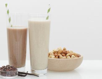Cacao almond milk