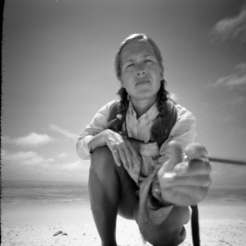 A Pinhole Camera Self Portrait Of United States Artist Fellow April Surgent From Her Website