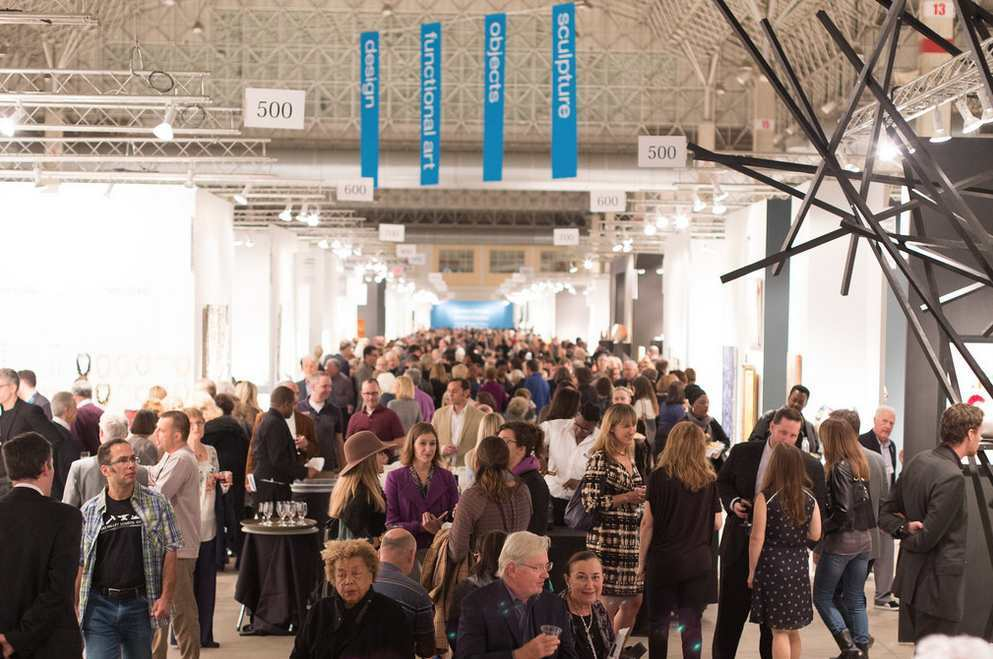 Superior An Image Of The Largest Fair For Glass Art Work Taken During SOFA CHICAGO  2015. Photo: Kate Jordan