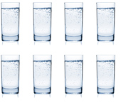 Drink 8 glasses of water per day
