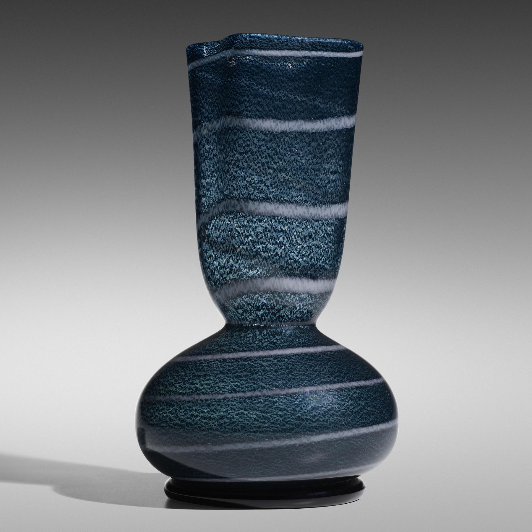 166 1 Important Italian Glass April 2020 Ercole Barovier Vaso Unico Con Spirale Wright Auction