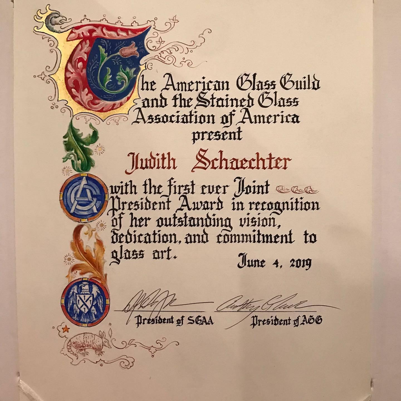 American Glass Guild Award