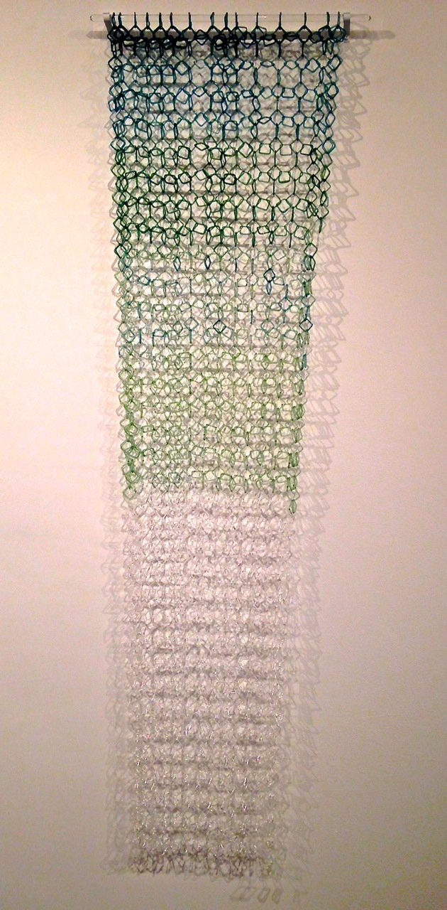 Cascade 2013 Torch Worked Borosilicate Glass 57 X 12 5 X 1 Inches Sold