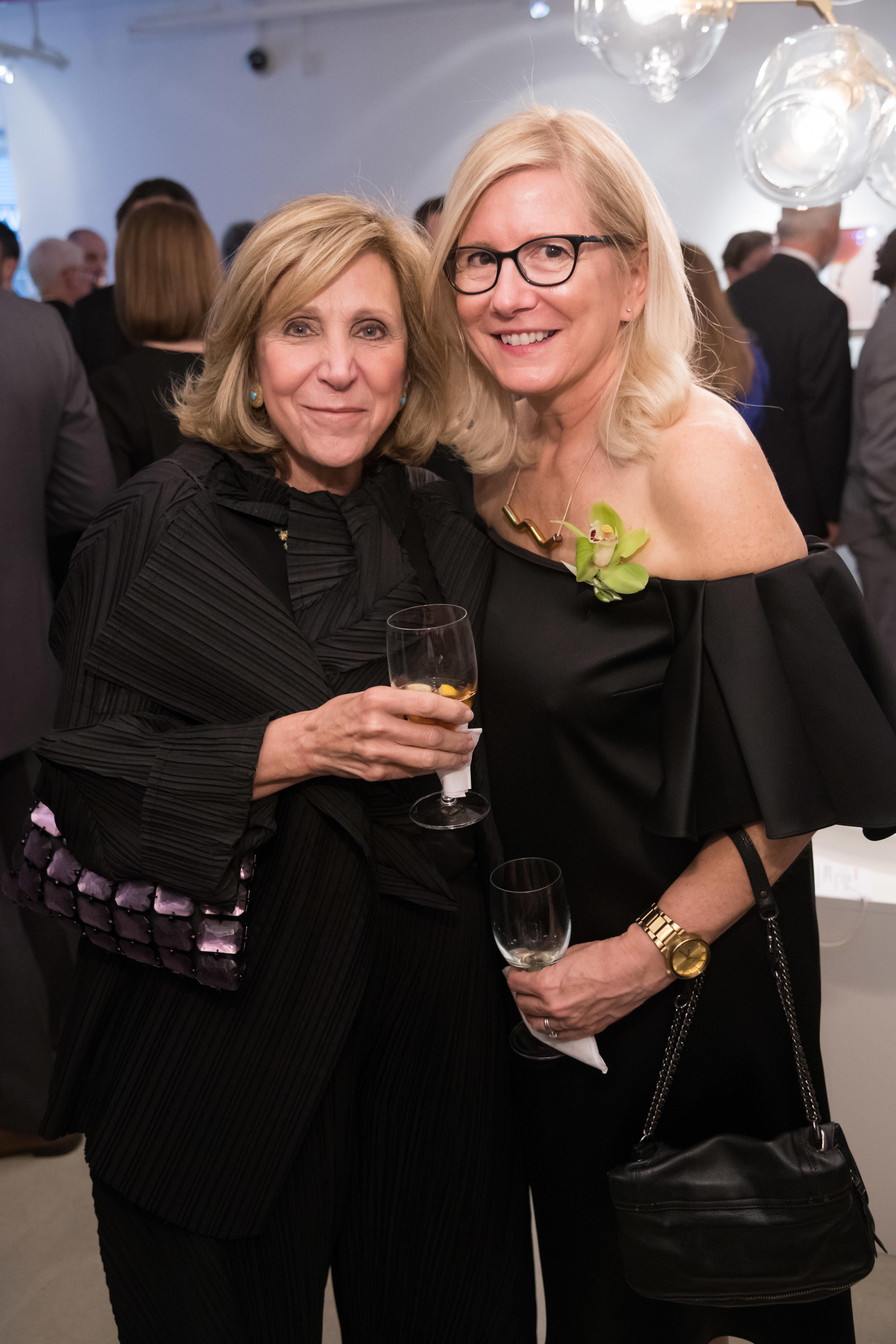 Darel Benaim And Board Member Katya Heller