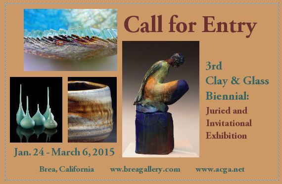 CALL FOR ENTRIES: Association of Clay and Glass Artists
