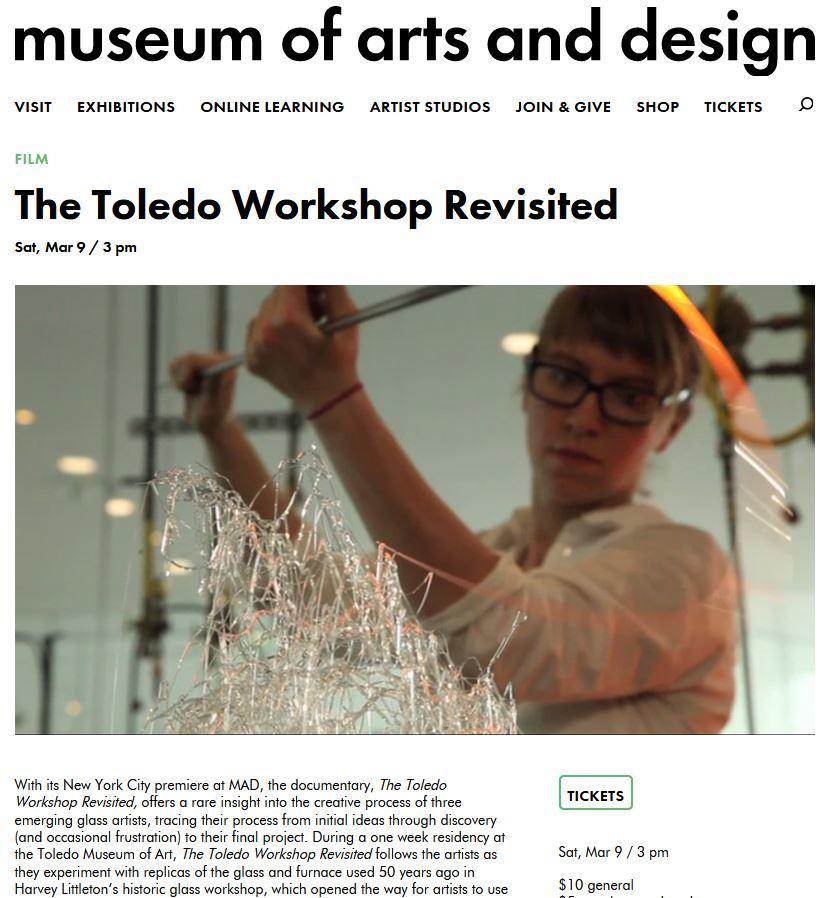 Toledo Workshop Mad
