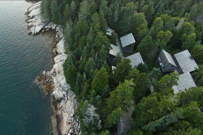 Haystack Aerial View