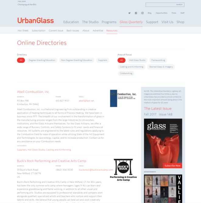 Online Directory 1