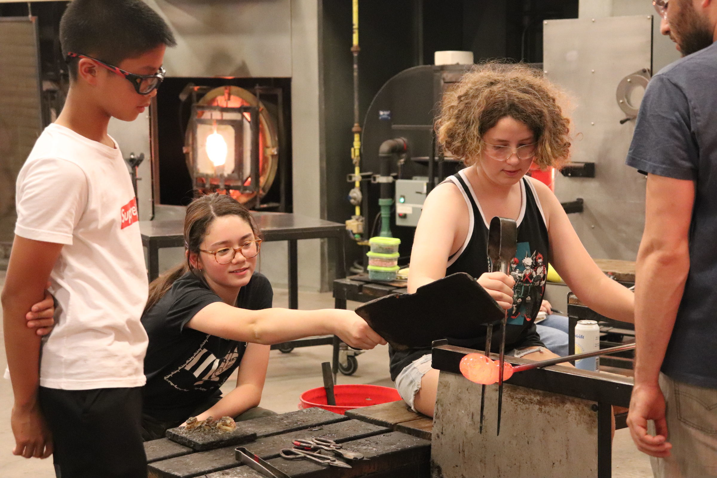 Youth Camp! Bubble Up: Intro to Glassblowing