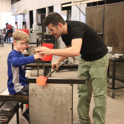 Experience Glassblowing June