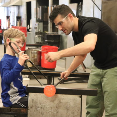 Glassblowing Open Studios