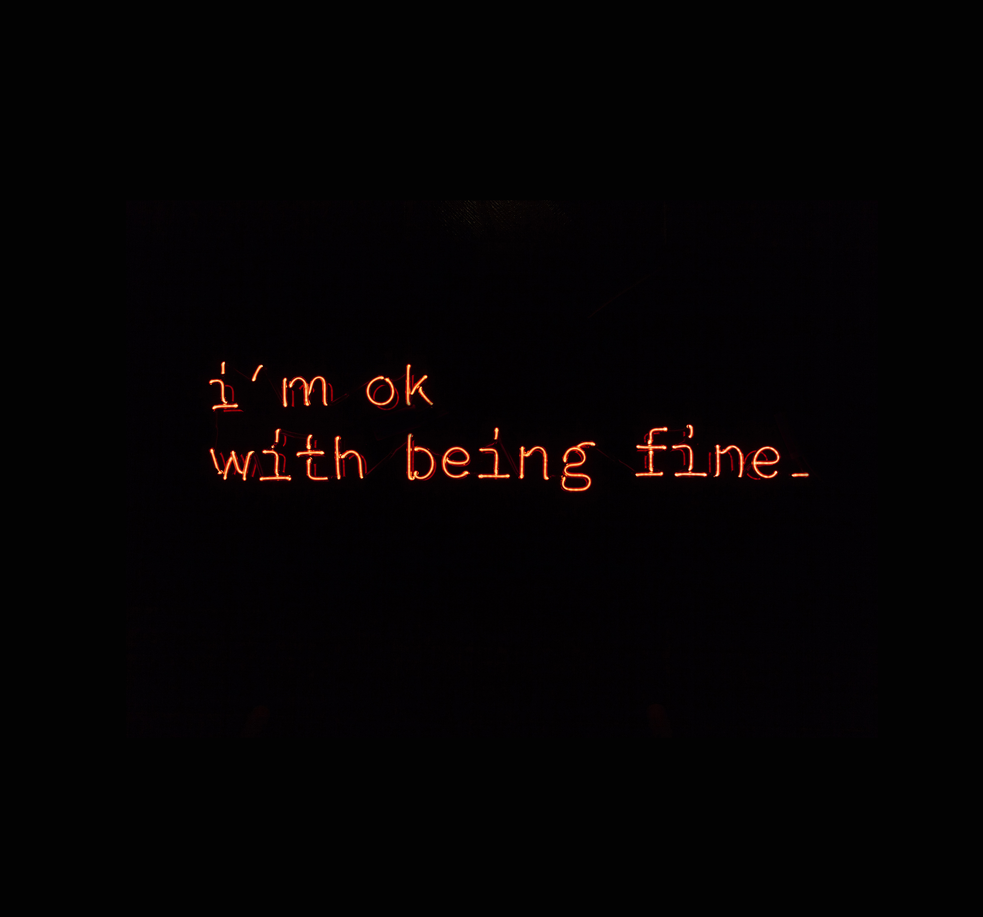Im Ok With Being Fine 02