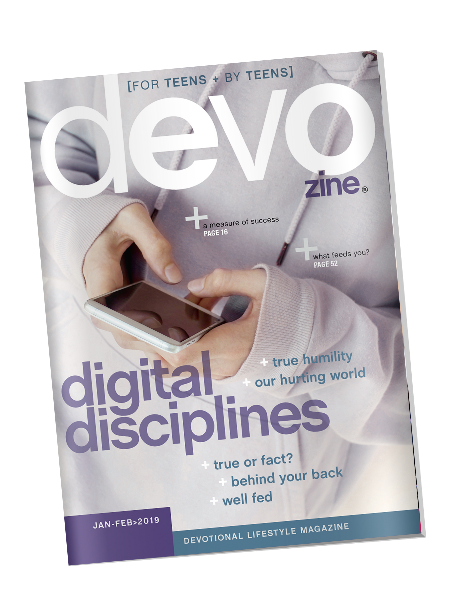 devozine cover