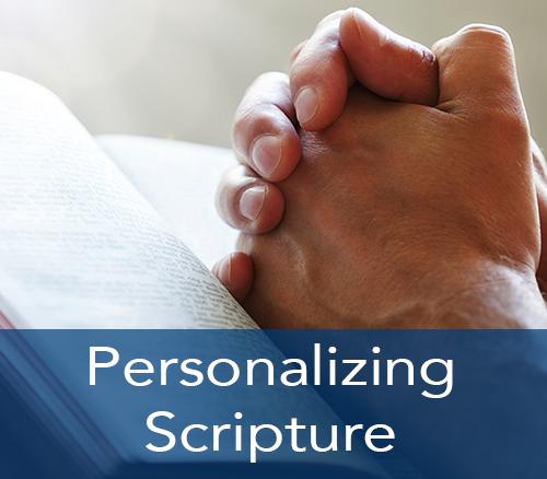 Personalizing Scripture