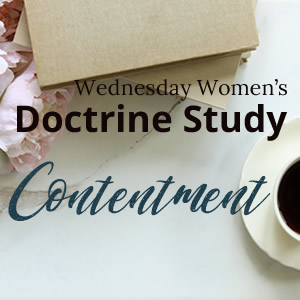Wednesday Women's Doctrine Study