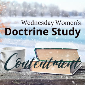 Spring Semester of Women's Doctrine Study Starting Up