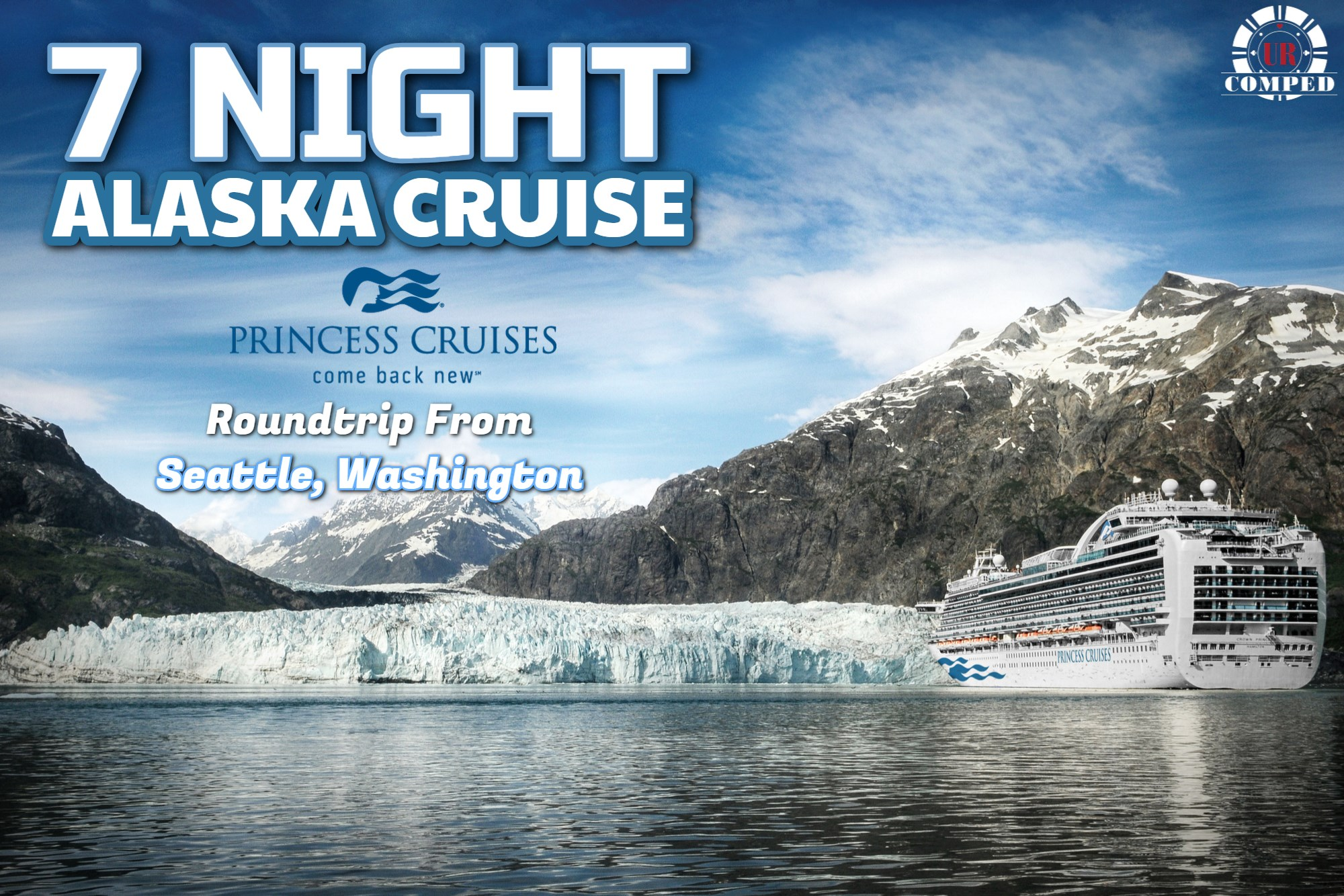 7 Night Alaska Cruises Round-trip From Seattle
