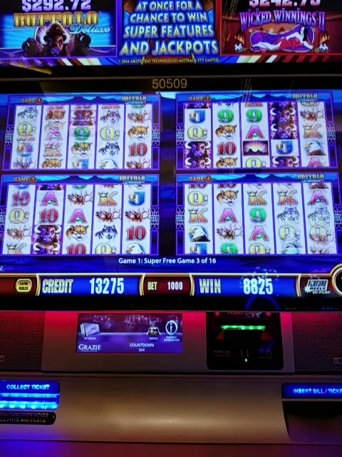Spirit mountain casino website