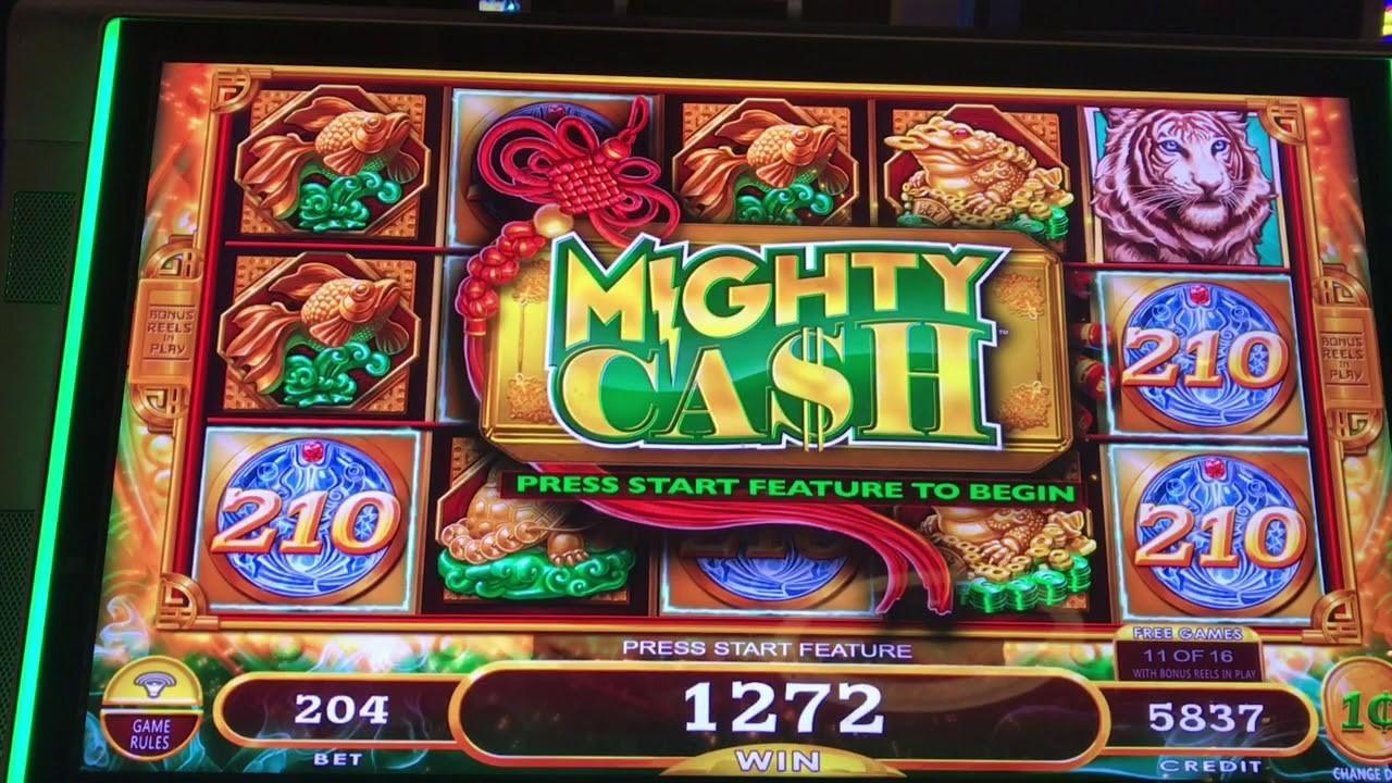 Mighty Cash Slot Machine By Aristocrat
