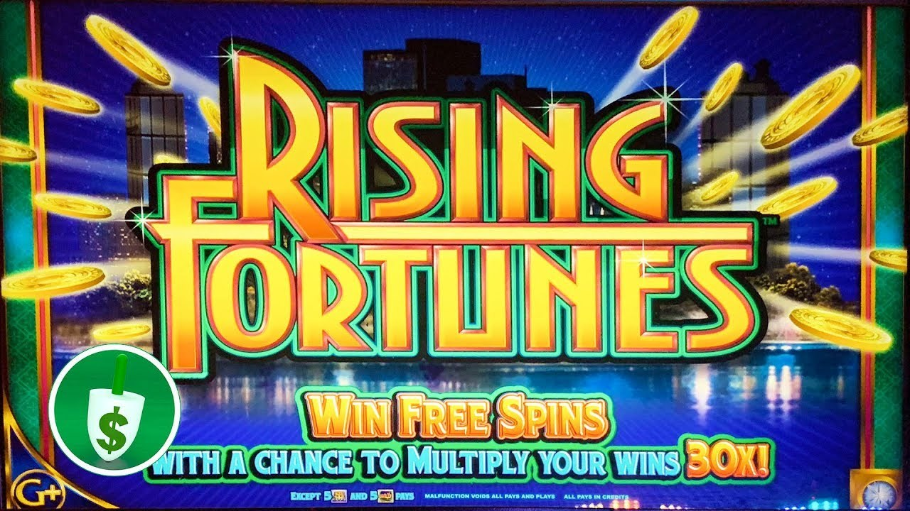 Rising Fortunes Slot Machine By Scientific Games
