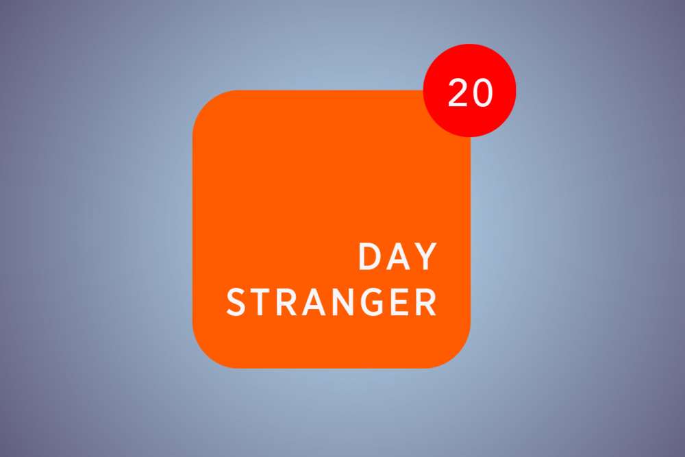 Know Everything About a Stranger in 20 Days