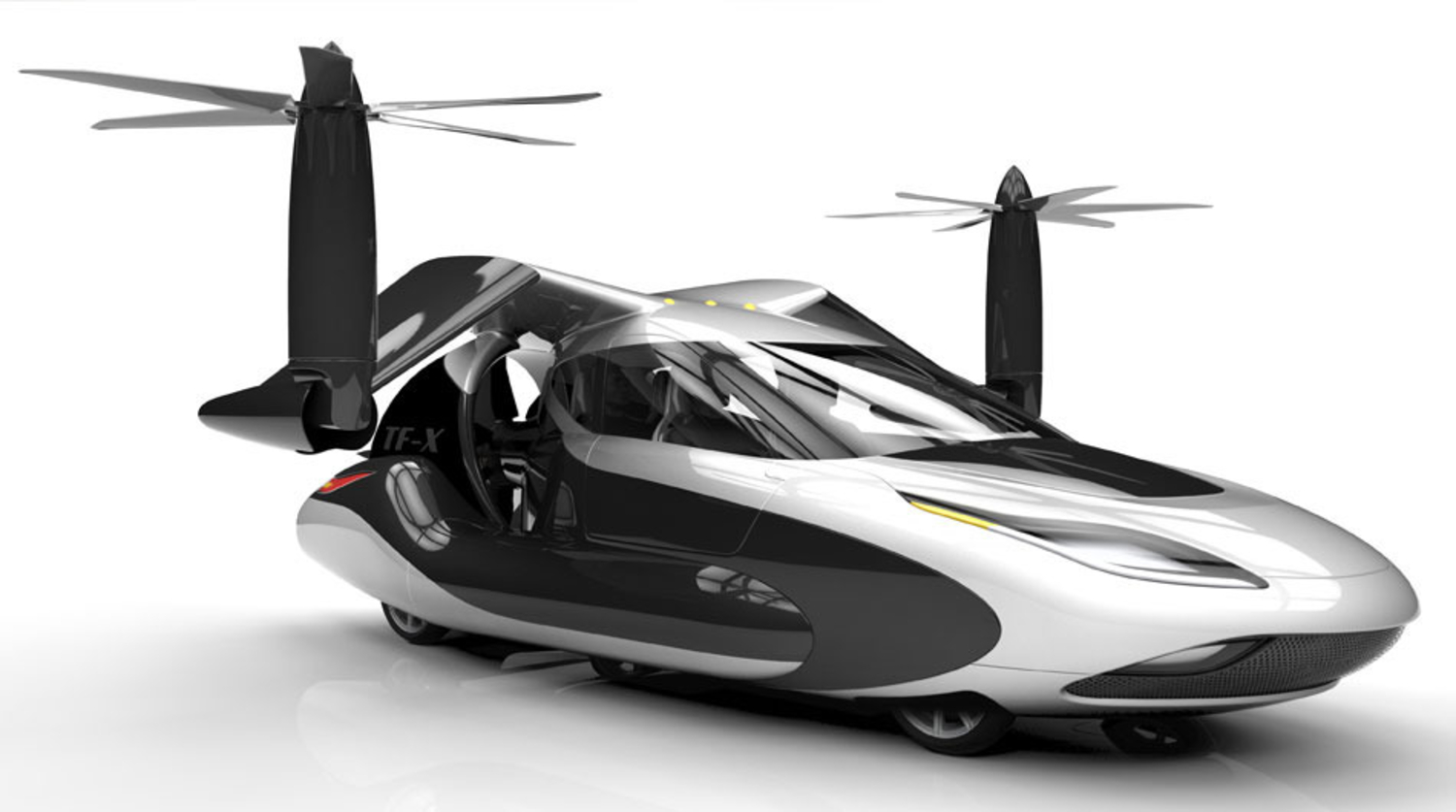 Check Out This Flying Electric Car